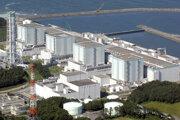 Objekt japonskej jadrovej elektrárne vo Fukušime.