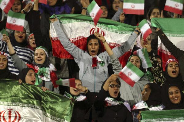 Iránske ženy. (Ilustračný obrázok)