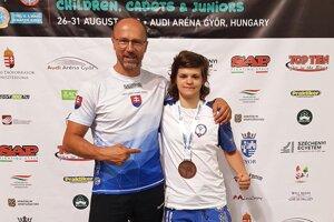 P. Onuščák s R. Harajdovou.
