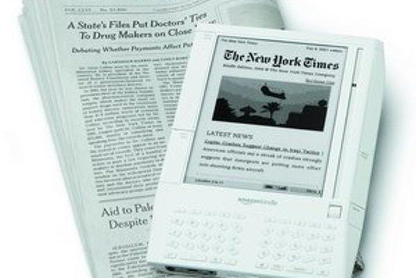 Nová čítačka Amazon Kindle má byť konkurenciou nielen pre papierové knihy, ale aj noviny.