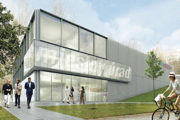 V novom objekte je plánovaný priestor pre supermarket, administratívu i miestny úrad.