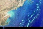 Veľká koralová bariéra pri pobreží Austrálie je dlhá takmer dvetisíc kilometrov.