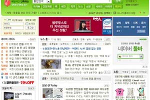Veselé farby, animované ikonky a osobný prístup – základ úspechu na kórejskom internete.