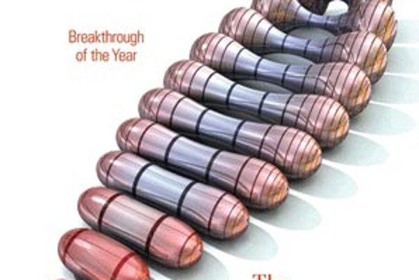 Titulná stránka magazínu Science z 22.12. 2006.