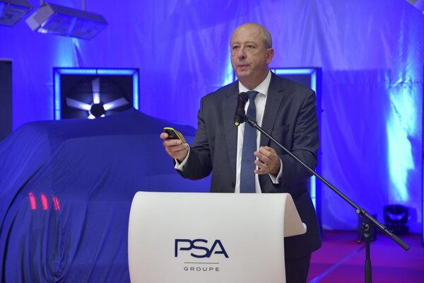 Generálny riaditeľ značky Peugeot Jean-Philippe Imparato