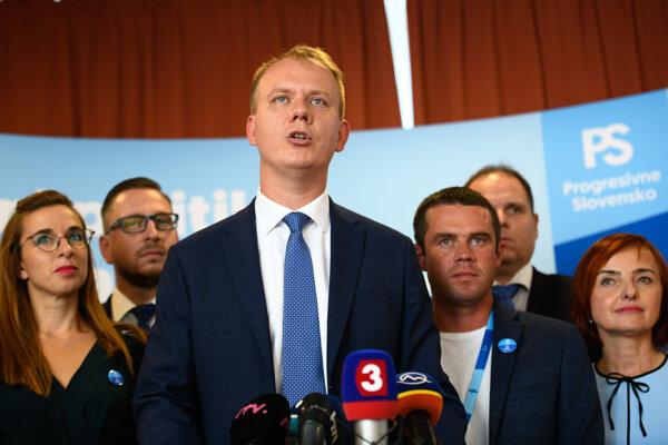 Miroslav Beblavý po sneme strany Spolu.