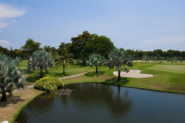 Thajsko - golf
