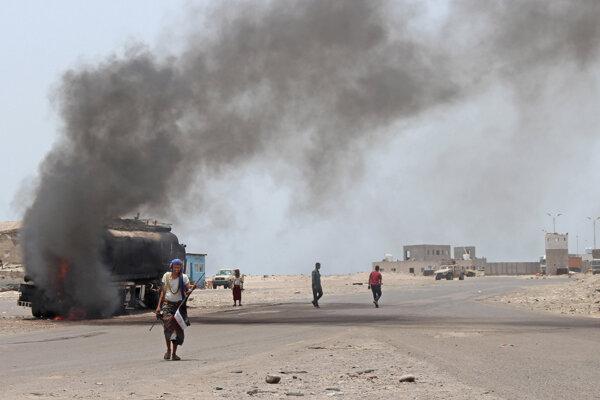 Boje v Jemene.