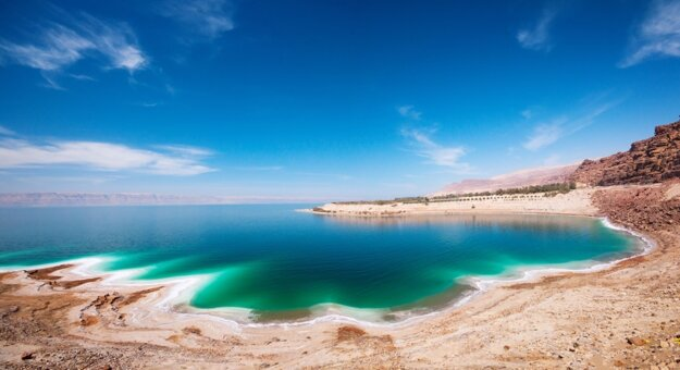 Mŕtve more v Jordánsku