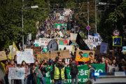 Klimatický pochod v Bratislave.