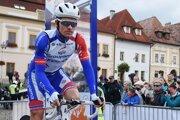 Arnaud Démare na pretekoch Okolo Slovenska.