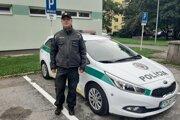 Policajt pomohol Prešovčanke.