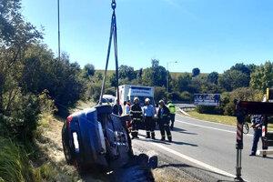 Nehoda na Sečovskej ceste.