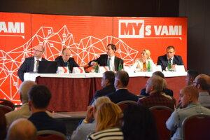 Spíkri na konferencii Doprava 2019 - diskusia o verejnej doprave.