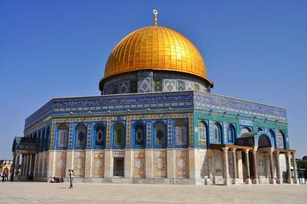 Chrámová hora v Jeruzaleme