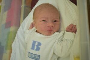 Daniel Bureš (4060 g, 53 cm) sa narodil 17. septembra Eve a Danielovi z Dolnej Súče.