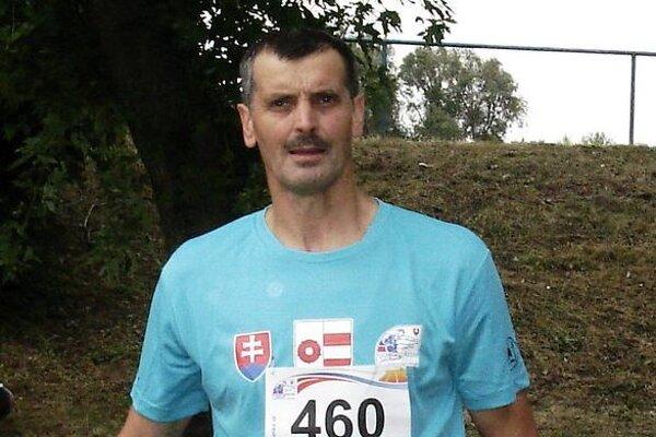 Peter Sládek štartoval s nedoliečeným zranením zadného štvorhlavého svalu. Napriek takému obmedzeniu si viedol vynikajúco.