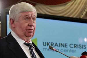 Bývalý ukrajinský generálny prokurátor Viktor Šokin.