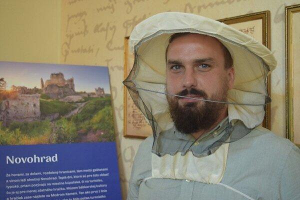 David Turčáni, včelár a koordinátor projektu Voštinári.