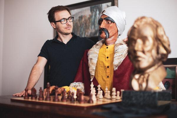Andrej Groll, maketa Turka a socha Kempelena