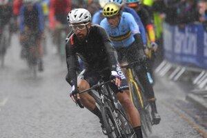 Peter Sagan počas MS v cyklistike 2019.