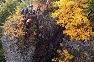 Výzva patrí k najnáročnejším zaisteným cestám na Slovensku.
