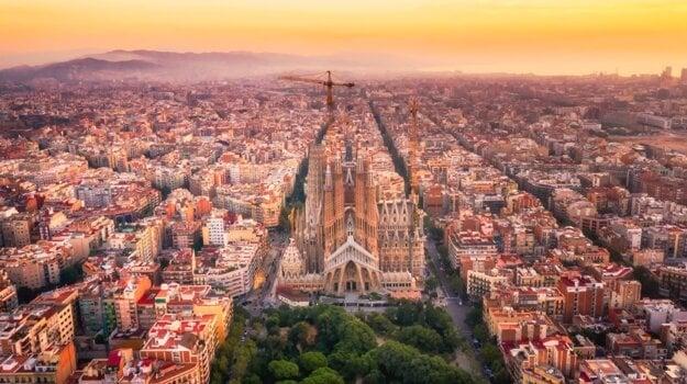 Barcelonská ikona Sagrada Familia