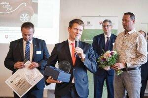 Ocenenie prevzal viceprimátor Vladimír Randa.