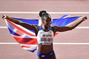 Britská bežkyňa Dina Asherová-Smithová.