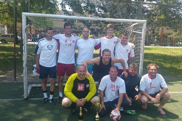 Víťazný tím S.N.P.