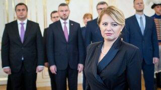 Čaputová kritizovala sudcovský stav (video)