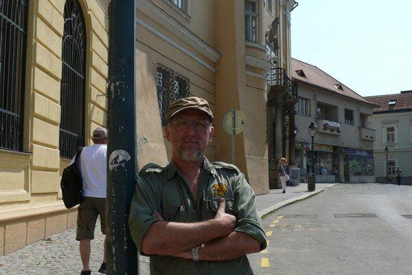 Spisovateľ Gustáv Murín.