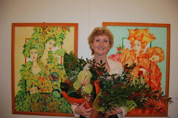 Jana Malotová prezentuje svoju tvorbu na výstave Snivým údolím