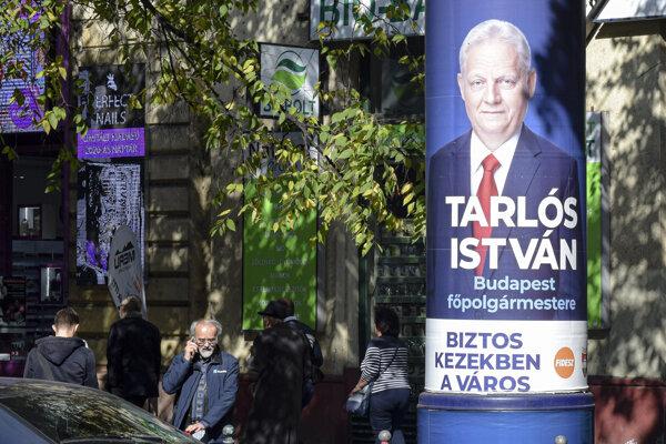 O post starostu Budapešti sa uchádza terajší starosta István Tarlós, ktorý spolupracuje s vládou premiéra Viktora Orbána.