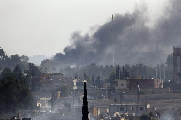 Operácia Turecka v Sýrii.