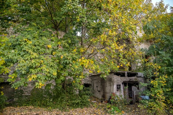 Z Vančovho mlyna sa zachovalo aspoň torzo.