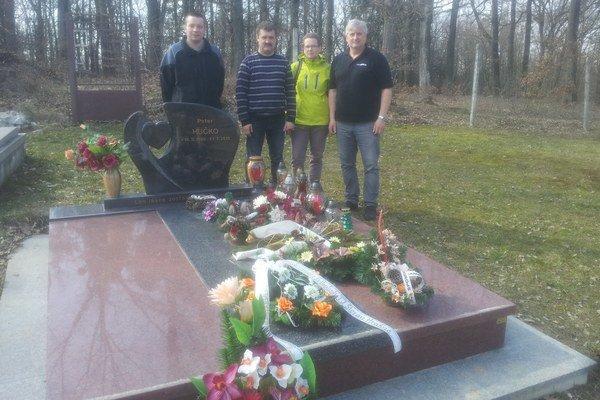 Zľava Marek Kohutik,  Vladimír Stančík, Elena Malková, Jaroslav Zmeko
