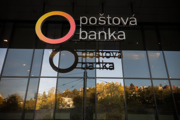 Poštová banka - ilustračná fotografia.