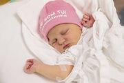 Sára je tisícim novorodencom vo zvolenskej nemocnici.