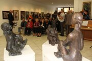 Výstava v Art galérii Schürger v Tvrdošíne k 100. výročiu marodenia Vincenta Hložníka.