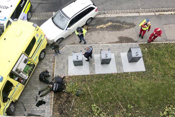 Muž v Osle ukradol vozidlo záchrannej zdravotnej služby.