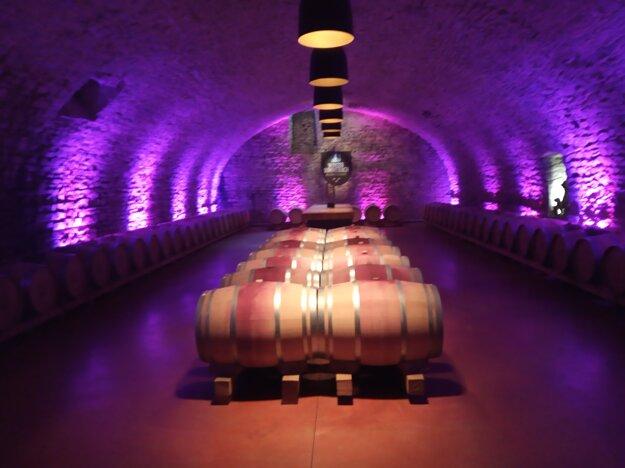 Družstevná vínna pivnica.
