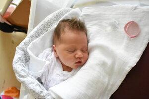 Eliška Kubánová (3570 g, 52 cm) sa narodila 11. októbra Kataríne a Ondrejovi z Potvoríc.