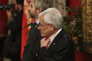 Čilský prezident Sebastián Piňera.