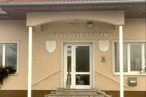 Obecný úrad v Lozorne
