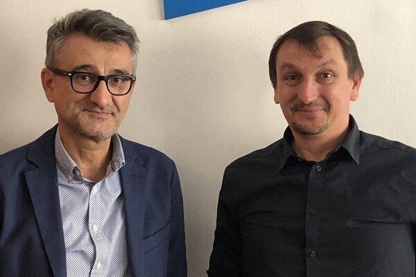 Vladimír Šucha a Juraj Hipš.