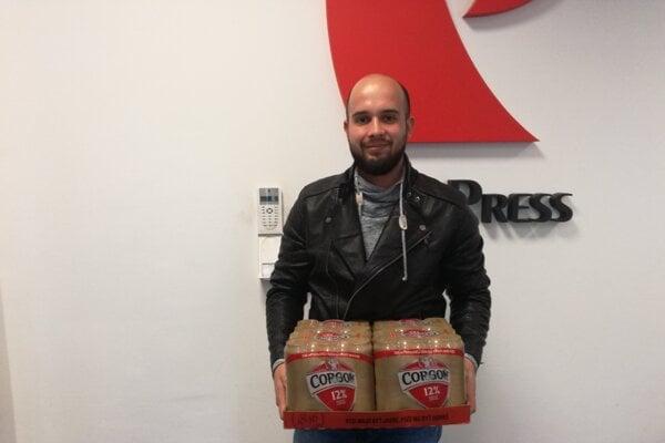 V 11. kole tipovačky si odniesol kartón piva René Matyó z Nitry.
