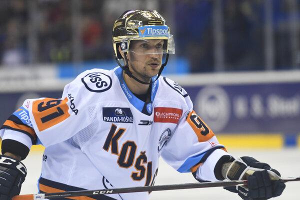 Michal Chovan dal dva košické góly.