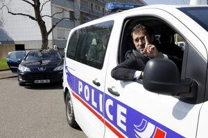 Francúzska polícia.