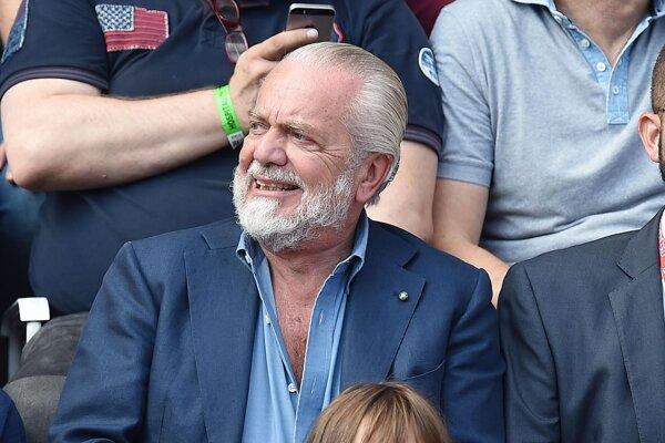 Majiteľ klubu SSC Neapol Aurelio De Laurentiis.